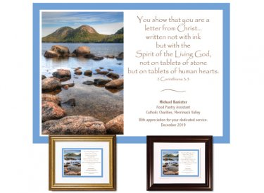 Service Appreciation - Letter From Christ (Acadia)