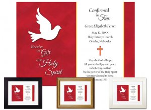 Personalized Confirmation Keepsake - Receive the Gift