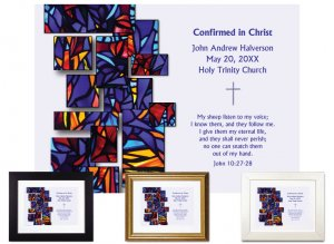 Confirmation Gift - Cascading Tiles