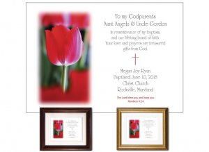 Gift for Godparents - Tulip