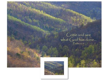 Inspirational Art - Come and See (Shenandoah)