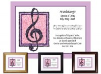 Musician Appreciation - Treble Clef