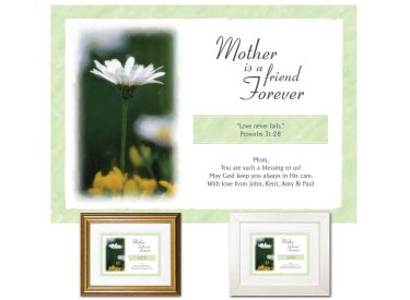 Gift for Mother - A Friend Forever (Daisy)
