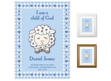 Children's Gift - Child of God (blue)