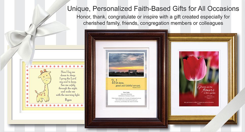Christian Gifts, Unique Personalized Gifts, Religious Gifts