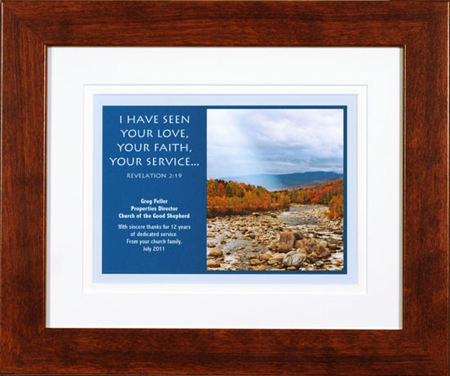 Christian Service Plaques | just b.CAUSE