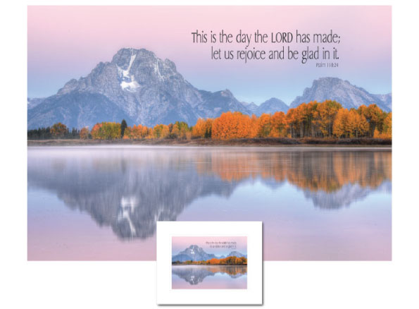 One of our Inspirational Art designs: This is the Day...