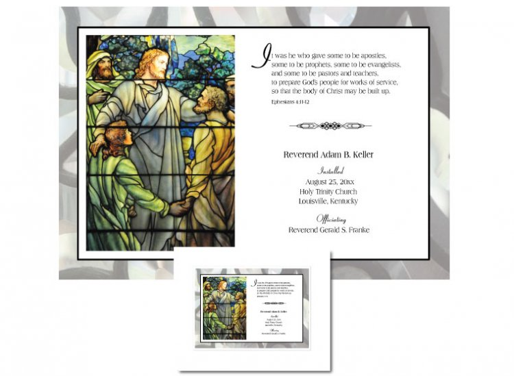 Clergy Installation Gift - It Was He - Click Image to Close