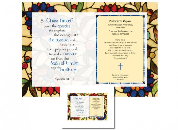 Ordination Anniversary Gift - Christ Himself - Click Image to Close