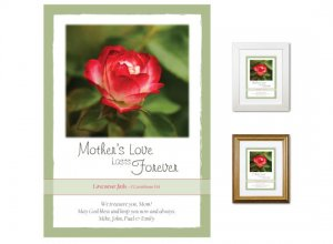 Gift for Mother - Love Lasts Forever