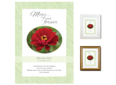 Gift for Mother - A Friend Forever (Zinnia)