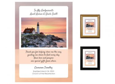 Gift for Godparents - Guidance (Lighthouse 1)