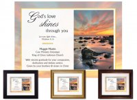 Service Appreciation - God's Love Shines (Ocean)