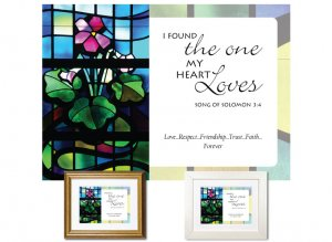 Sweetest Day Gift - I Found the One (Stained Glass)