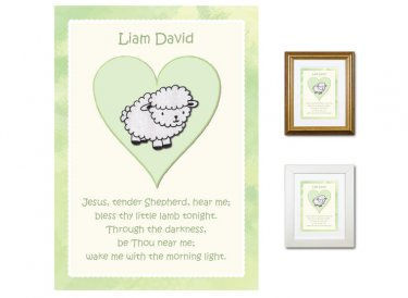 Children's Prayer - Tender Shepherd (Green)