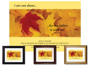 Christian Encouragement - I Am Not Alone