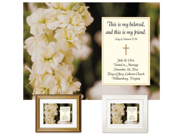 Wedding Gift - This is My Beloved - Click Image to Close