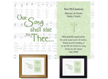 Musician Appreciation Gift - Our Song Shall Rise