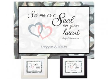 Sweetest Day Gift - On Your Heart (Silver)