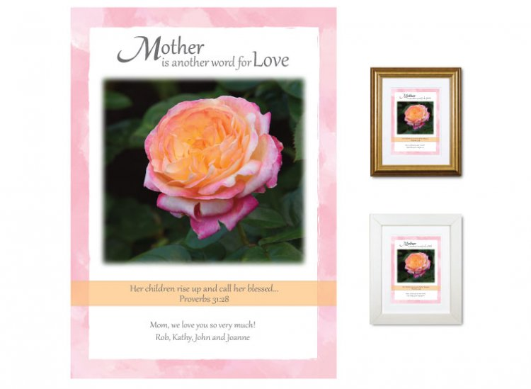Gift for Mother - Her Children (Rose) - Click Image to Close
