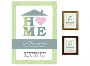 Gifts for House & Home - Heart (green)