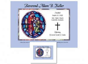 Clergy Installation Gift - Stained Glass