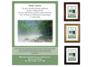 Pastor Appreciation Gift - Tireless Service