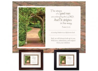 Gift for Father - A Good Man (Summer Walkway)