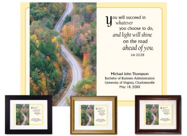 Graduation Gift - You Will Succeed (Ribbon of Highway)