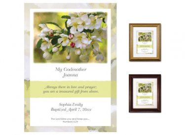 Gift for Godmother - Crabapple Blossoms