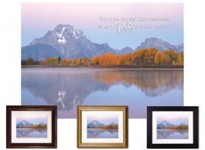Gifts for House & Home - Let Us Rejoice/Mount Moran