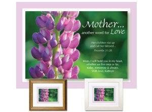 Gift for Mother - Another Word for Love (Lupine)