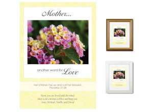 Gift for Mother - Another Word for Love (Lantana)