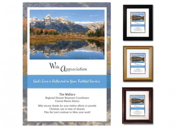 Service Appreciation - With Appreciation (Tetons) - Click Image to Close
