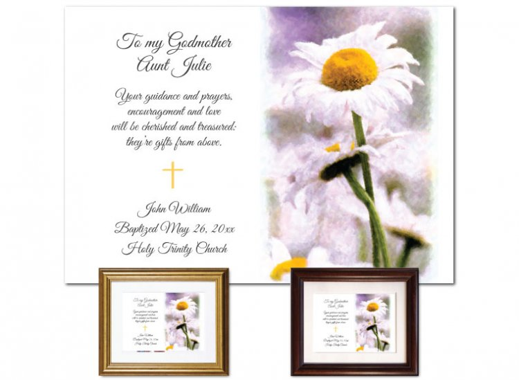 Gift for Godmother - Daisy - Click Image to Close
