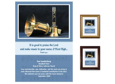 Musician Appreciation Gift - Handbells