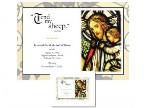 Clergy Installation Gift - Tend My Sheep