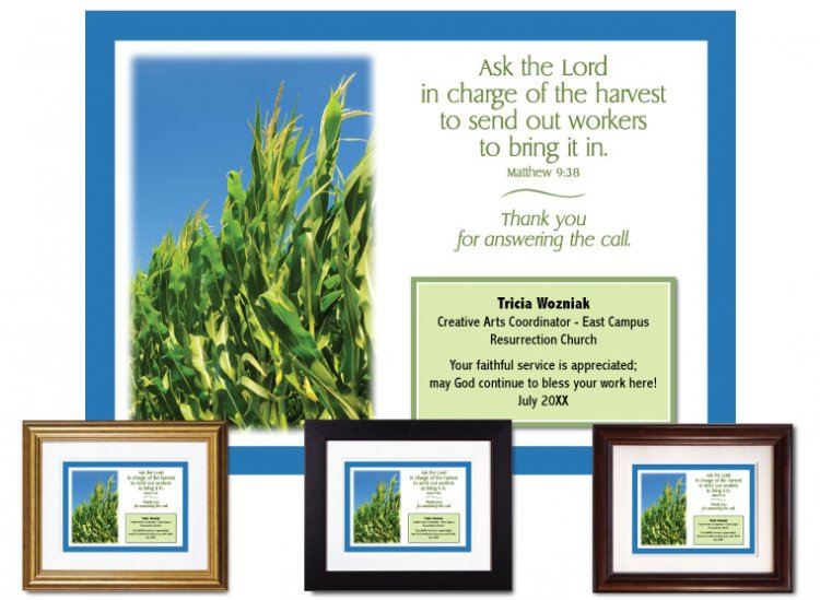 Service Appreciation - Lord of the Harvest - Click Image to Close