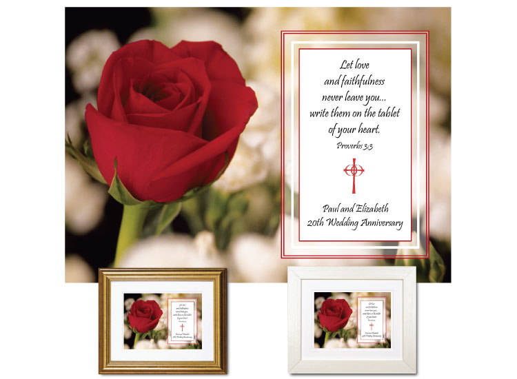 Wedding Anniversary Gift - Love & Faithfulness - Click Image to Close