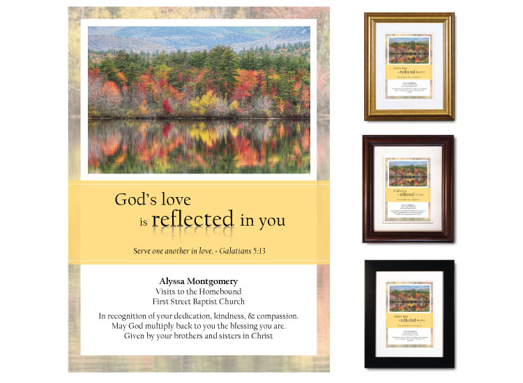 Service Appreciation - Reflected in You - Click Image to Close