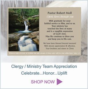 Clergy Appreciation