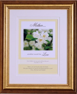 personalized gift for mother