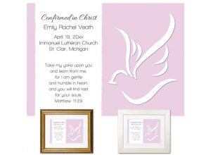 Personalized Confirmation Gift